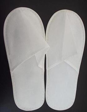 Papuci PPSB unica folosinta, talpa subtire adulti - albi