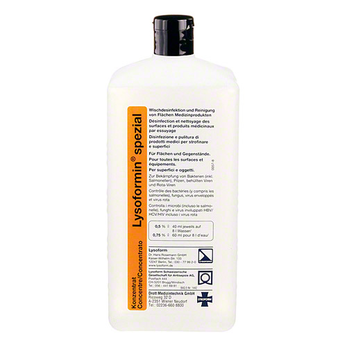 Lysoformin Spezial, 1 litru - concentrat - produs indisponibil