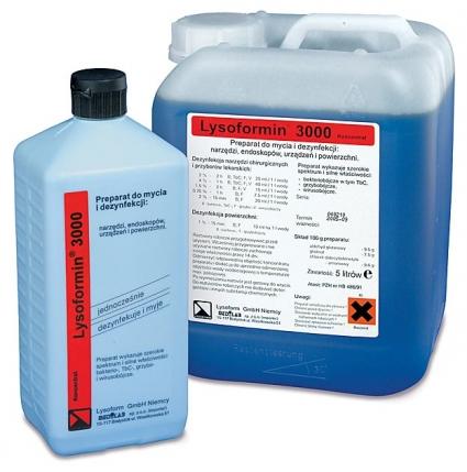 Lysoformin 3000, 5 litri - concentratie 8% - produs indisponibil