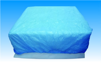 Husa pat material netesut 90cm x 225cm, elastic colturi - impermeabila