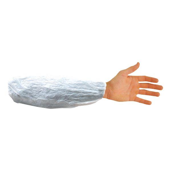Cotiere protectie maneci PVC - albe