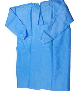 Halat chirurgical steril simplu - marimi M, L, XL, XXL